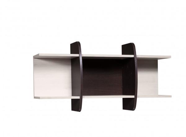 Полка Мебель-Класс Вегас-1 (венге/дуб шамони)