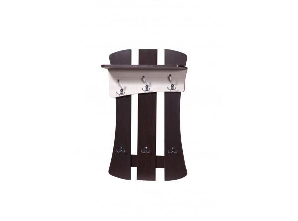 Вешалка для одежды Мебель-Класс Нюанс-2 (венге/дуб шамони)