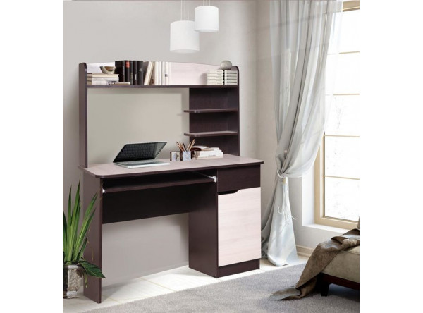 Компьютерный стол Мебель-Класс Лидер (венге/дуб шамони)