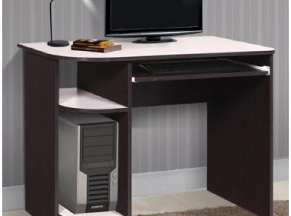 Компьютерный стол Мебель-Класс Компакт (венге/дуб шамони)