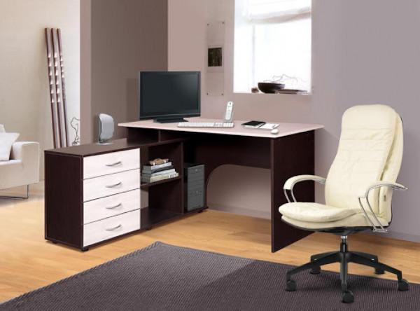 Письменный стол Мебель-Класс Мэдисон-1 (венге/дуб шамони)