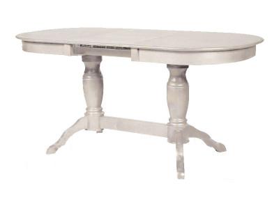 Обеденный стол Мебель-Класс Пан (белый)
