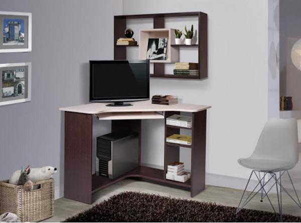 Компьютерный стол Мебель-Класс Техно (венге/дуб шамони)